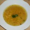 Drožďová polévka s vejcem a krupicí
