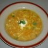 Polévka s ovesnými vločkami, červenou čočkou a zeleninou