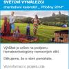 """SVĚTOVÍ VYNÁLEZCI  charitativní kalendář """" Příběhy 2014"""""""
