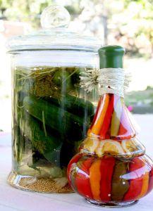 Sterilovaná zelenina - ilustrační snímek